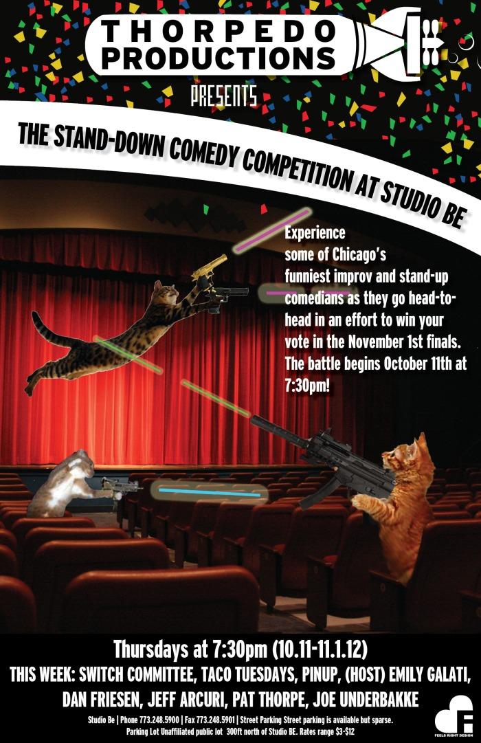 Comedy Competition Finals!