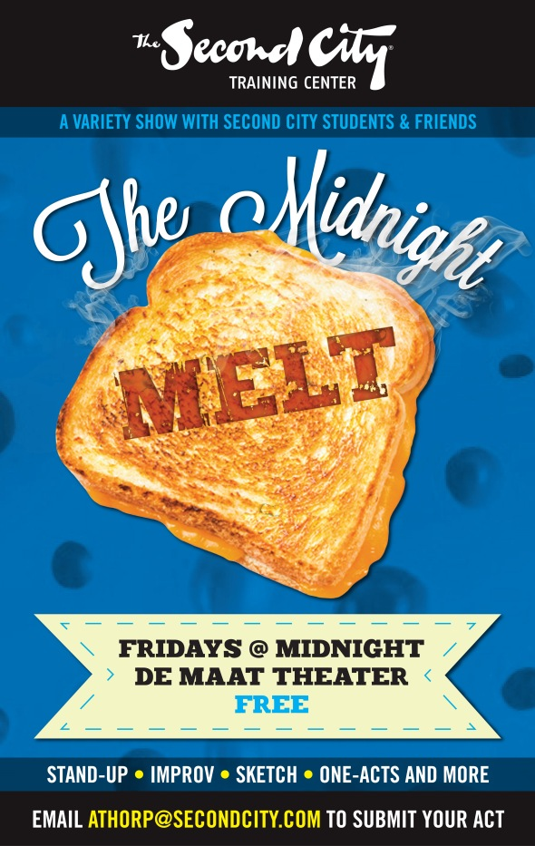 The Midnight Melt - Fridays at Midnight in the de Maat Theater!
