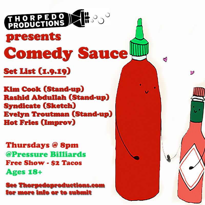 comedy sauce 1.9.20