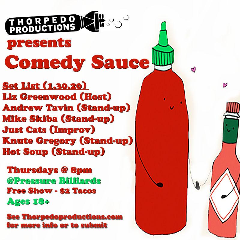 pressure comedy sauce 1.30