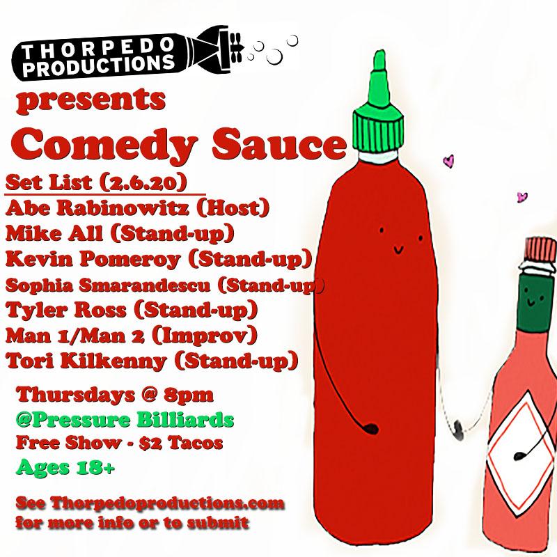 comedy sauce 2.6.20