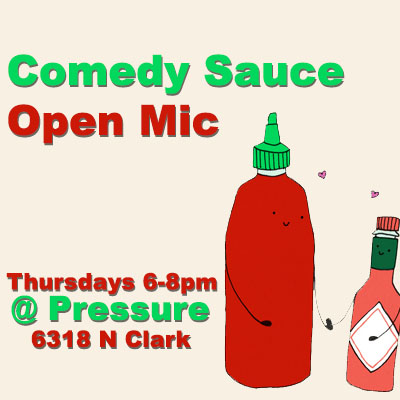 Comedy Sauce open mic FB Sq general